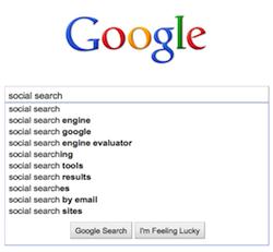 Social search success