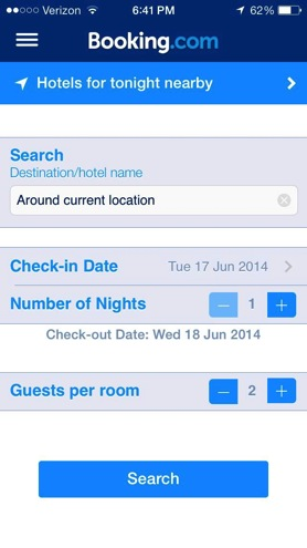 Booking com mobile