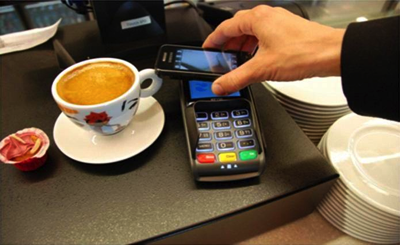 Mobile payments image courtesy of HLundgaard on Wikipedia