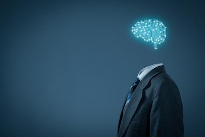 Will AI Kill Your Brand? Graphic representing AI