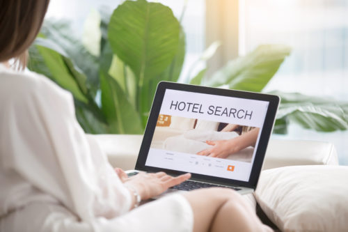 Grow Hotel Direct Business: Guest searching for hotel reservations