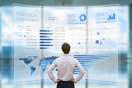 Data is overrated: Marketer reviewing analytics dashboard
