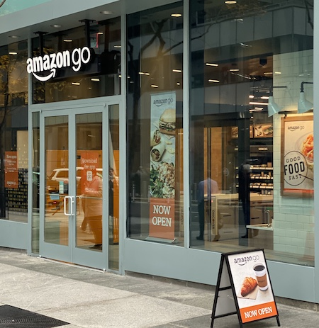 Amazon Go, Instant Gratification, and the Boring Future of Business: Picture of Amazon Go store